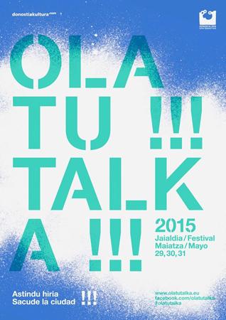 Cartel del Olatu Talka de Donostia 2015