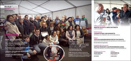 Cartel del Concurso y Feria de la Morcilla de Ormaiztegi 2019
