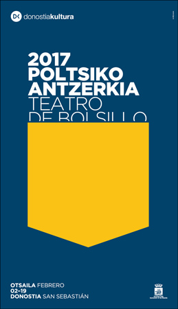 Donostiako Poltsiko Antzerkia Jaialdiaren kartela 2017