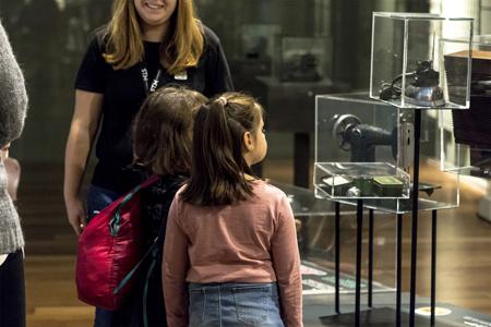 San Telmo Museoaren familia tailerren foiletoa
