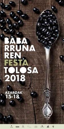 Cartel de la Fiesta de la Alubia de Tolosa 2018