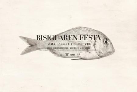 Cartel de la Fiesta del Besugo de Tolosa 2016