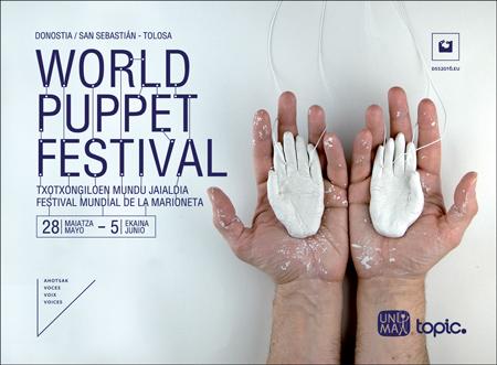 Donostia eta Tolosako World Puppet Festival-aren kartela 2016