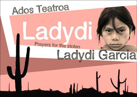 "Cartel de la obra ""Ladydi"""