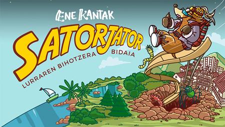 """Cartel del espectáculo """"Satorjator"""""""