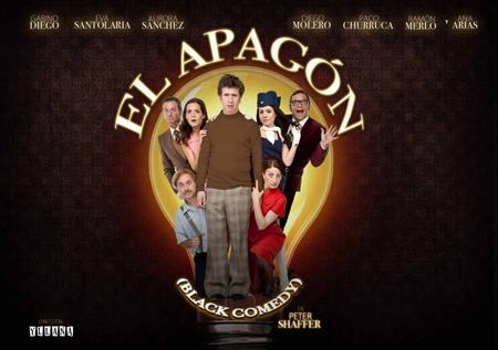 "Cartel de la obra ""El Apagón"""