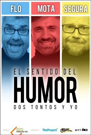 """Cartel de la obra """"El Sentido del Humor: Dos Tontos y Yo"""""""