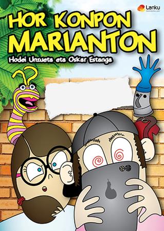 """""""Hor Konpon Marianton"""" antzezlanaren kartela"""