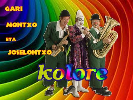 """Cartel del espectáculo """"Kolore"""""""