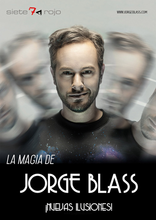 "Cartel del espectáculo ""La Magia de Jorge Blass"""