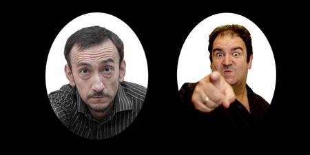 Iñigo Salinero eta Javier Merino