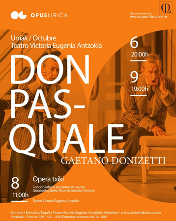 """Don Pasquale"" operaren kartela"